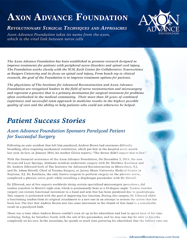 Axon Advance Foundation Newsletter