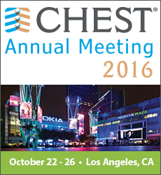 CHEST Annual Meeting 2016