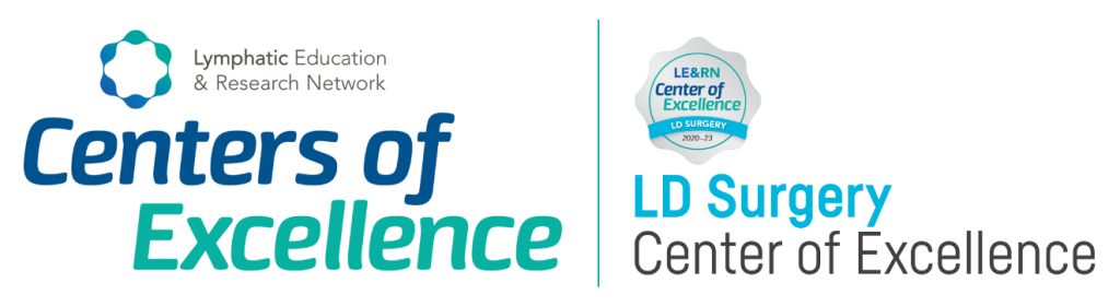 Lymphatic Education & Research Network Centers of Excellence