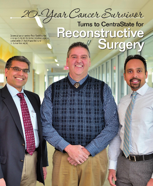 The article featuring Dr. Patel