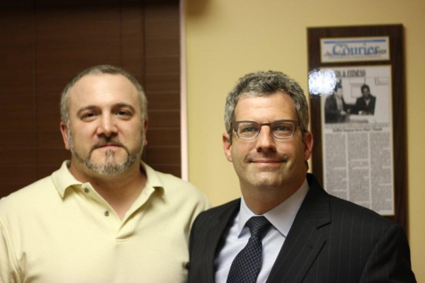 Paul Nese with Dr. Michael Rose
