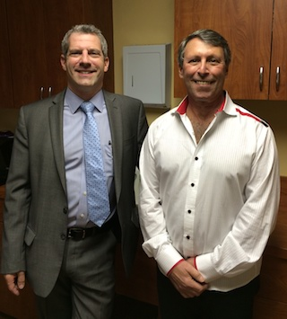 Dr. Rose and Neuropathy Patient Jon Kay