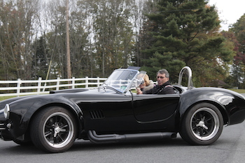 John and Janey in the Cobra