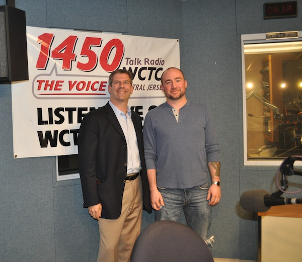 Dr. Michael Rose with patient David Milazzo